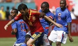 Espanha vence particular com Haiti (2-1)