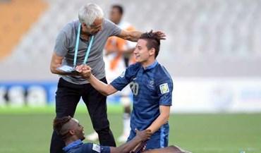 Técnico francês respeita Uruguai