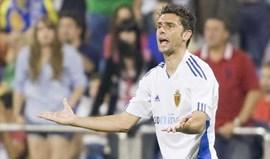 Valencia e Saragoça chegam a acordo por Postiga
