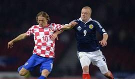 Grupo A: Croácia perde mas está no playoff