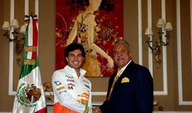 Force India confirma Sergio Pérez em 2014