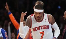 Carmelo Anthony faz 62 pontos na vitória dos Knicks
