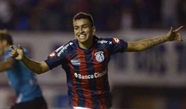 Ángel Correa no At. Madrid por 7 milhões de euros