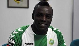 Jordão Diogo apresentado no Bonfim