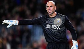 Willy Caballero a caminho do Man. City