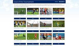 Messi e James Rodríguez com dois golos entre os melhores da prova