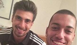 Ruben Vezo encontrou André Gomes no hotel