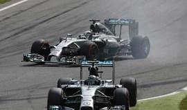 Mercedes diz que houve porcos a voar em Monza