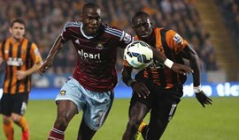 Hull City e West Ham selam jornada com empate (2-2)