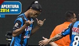 México: Ronaldinho estreia-se a marcar pelo Querétaro