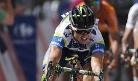 Simon Gerrans fratura clavícula e falha Tour Down Under