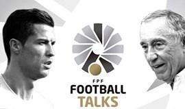 Ronaldo e Marcelo Rebelo de Sousa conversaram sobre futebol