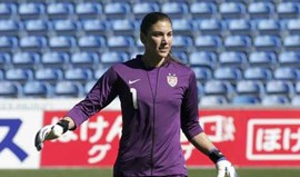 Hope Solo suspensa por 30 dias