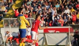 As melhores imagens do Arouca-Benfica