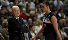 Rebelião no Partizan Belgrado devido a treino às... seis da manhã