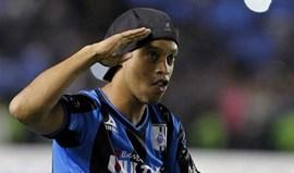 México: Ronaldinho poderá retirar-se esta época