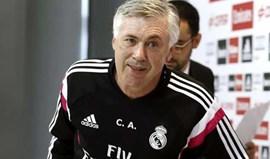 Ancelotti: «Não entendo apupos do Bernabéu a Ronaldo»