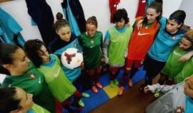 Sub-16 goleadas pela Bélgica