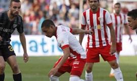 Tribunal anula sanção de três pontos ao Almería