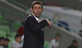 Pedro Caixinha: «Djaniny é um avançado muito rápido com grande ambição»