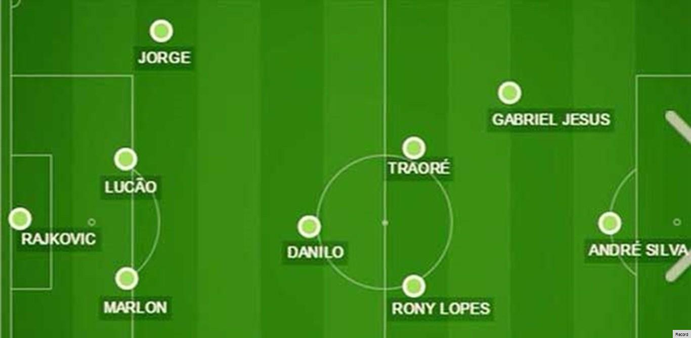 Rony Lopes e André Silva na equipa ideal da prova