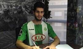 Fábio Pacheco assina por duas temporadas
