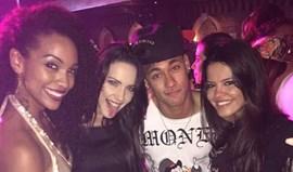 Neymar com estrelas da Globo e... Gabriel Medina