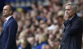 Mourinho com palavras pouco amáveis para Roberto Martínez