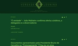 Leões criam blog oficial e revelam documentos