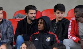 Renato Sanches e Gilson Costa viram juniores de perto
