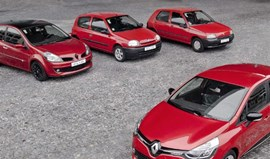 Renault Clio festeja 25 anos