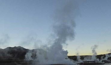 Os impressionantes geysers do Tatio