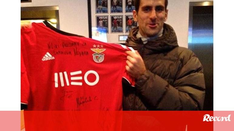 dbc7742f433 Djokovic  «Benfica sempre me tratou bem» - Ténis - Jornal Record