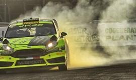 Rossi mostra todo o seu talento no Monza Rally Show