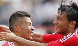 Diogo Gonçalves e João Carvalho aceleram para Vitória