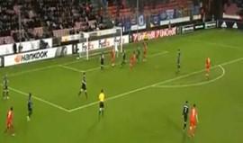 Golaço de Sisto coloca Midtjylland na próxima ronda da Liga Europa