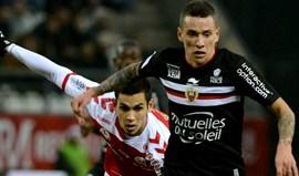 Nice empata em Reims e atrasa-se na luta pelos lugares da frente