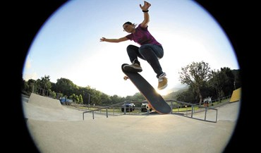 Parques para skaters