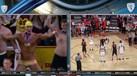 O que faz Phelps em tronco nu num jogo de basquetebol?