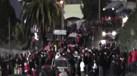 Euforia na chegada do Benfica a Moreira de Cónegos