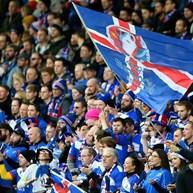 Oito por cento da população islandesa vai à fase final