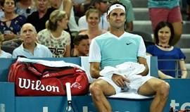 Federer apanhou febre dos seus quatro filhos