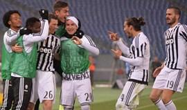 Juventus vence Lazio e está nas meias da Taça