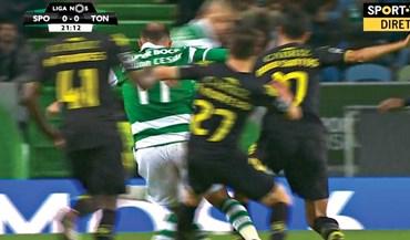 Os casos do Sporting-Tondela
