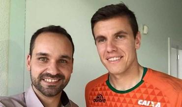 Marcelo Boeck já veste a nova camisola