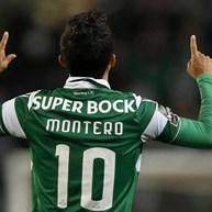 Sporting vende Montero por 5 milhões
