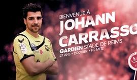 Johann Carrasso oficializado no Reims