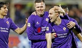 Fiorentina triunfa nos descontos