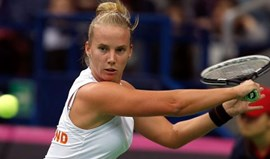 Hogenkamp bate Kuznetsova no jogo mais longo de sempre da Fed Cup