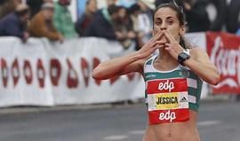 Jessica Augusto foi 3.ª na Meia-Maratona de Barcelona